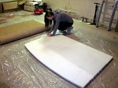 The Murphy's: DIY Seagrass Headboard Seagrass Headboard, Diy Headboards, Room Ideas Bedroom, Sabbatical, Mattress, Blogging, Furniture, Decor Ideas, Home Decor