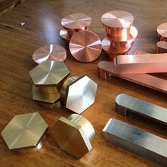 Handles in copper and copper alloy materials by Auhaus Architecture @Auhaus Instagram photos   Websta