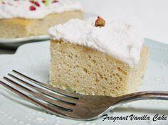 Simple Vegan Vanilla Bean Cake   Fragrant Vanilla Cake