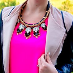 Luxe Crystal Statement Necklace / FINAL SALE
