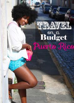 Cute and budget friendly guide to exploring Puerto Rico in 4 days Budget travel tips #travel #budget