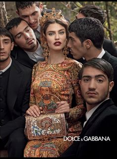 Dolce & Gabbana Fall Monica Bellucci, Andreea Diaconu, Bianca Balti, and Kate King photographed by Domenico Dolce. Photo courtesy of Dolce & Gabbana Bianca Balti, Dolce & Gabbana, Fashion Advertising, Advertising Campaign, Image Mode, Vogue Mexico, Mode Glamour, Merian, Stefano Gabbana