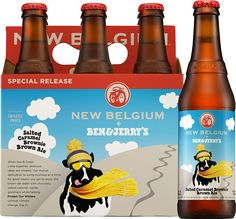 Ben & Jerry's Salted Caramel Brownie (Fall 2015) Brown Ale beer