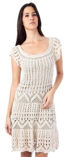Free and Summer and winter Crochet Dress patterns for beginner Part 9 ; crochet dress for women; Black Crochet Dress, Crochet Skirts, Crochet Blouse, Crochet Clothes, Knit Dress, Knit Crochet, Free Crochet, Crochet Tops, Crochet Woman