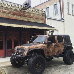 JEEPBEEFBy JeepHer — Check out the @ChrisKyleJeep in an urban setting...