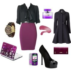 """Administrative Assistant"" by sageflower on Polyvore"