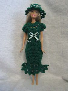Barbie Doll Clothes Fits Modern Vintage Barbie Handmade Crocheted Outfit | eBay