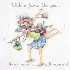 Cards » With a friend like you » With a friend like you - Berni Parker Designs