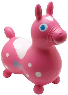 Amazon.com: Rody the Horse Child's Bounce and Ride, Lime Green: Toys & Games