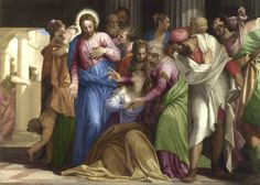 Veronese , Christ Healing a Woman with an Issue of Blood London, National Gallery