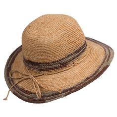 Tommy Bahama Crocheted Raffia Hat (For Women))