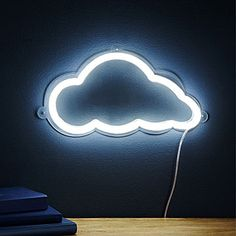 Cloud LED Wall Sculpture | Neon Signs, Cumulus Clouds | UncommonGoods