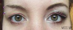 Maquillage pour corriger les paupières tombantes - MISS VAY http://www.missvay.com/2013/05/maquillage-corriger-paupieres-tombantes.html