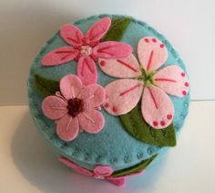Vintage Hankie Inspired Pincushion by TheDailyPincushion on Etsy, $28.00