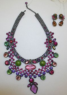 Jewelry set                                                                                 Date:                                      late 1950s–early 1960s