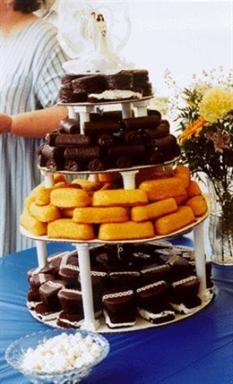 Redneck Wedding Cake  Perfect DIY for a redneck wedding reception  Keywords: #redneckweddingcake #jevel #jevelweddingplanning Follow Us: www.jevelweddingplanning.com www.pinterest.com/jevelwedding/ www.facebook.com/jevelweddingplanning/