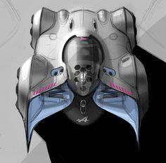Alpine Vision Gran Turismo Concept Design Sketch by Yann Jarsalle