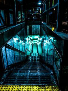T-VIRUS IS WHERE...? by Koukichi Takahashi on 500px  Leon...!!?  Ada!!!!  東京都渋谷区道玄坂上と南平台の地下通路への階段