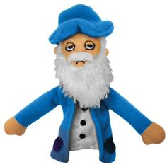Claude Monet Finger Puppet and Refrigerator Magnet -- Find out more about the great product at the image link. (This is an affiliate link) #NoveltyGagToys