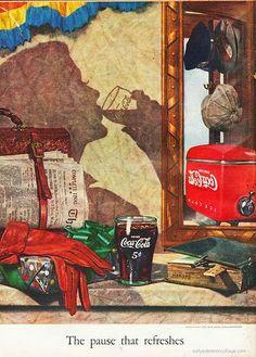 Vintage Coca Cola Advertisement: