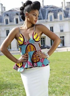Its African inspired. | Betty Richoux