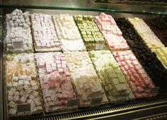 Turkish Delight from Harrod's Food Hall (London, England).