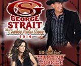 George Strait - Fri., February 28, 2014 - Wells Fargo Center - Tickets onsale 10/11/13 @ 10am!