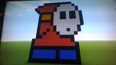 Minecraft Pixel Art Mario
