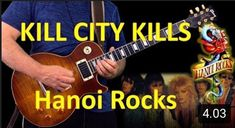 Time for next Hanoi Rocks guitar cover Kill City Kills. Link in Bio. Music Songs, My Music, Kill City, Hanoi Rocks, Guitar, Ibanez, Cover, Link, Youtube