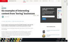 Six examples of interesting content from 'boring' businesses