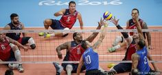 U.S. Men's Sitting Volleyball Team Falls To Brazil In Paralympic Opener