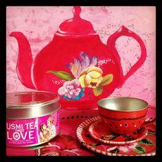 thé rose