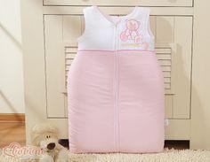 "Pink sleeping bag ""Best friends"" / Bobono"