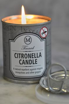 Created especially for keeping miggies, mosquitoes and other goggas at bay during spring and summer. Made with pure citronella essential oil that acts as a