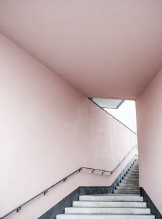 Print Pink Stairs