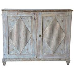Early 19th Century Swedish Gustavian Sideboard | From a unique collection of antique and modern sideboards at http://www.1stdibs.com/furniture/storage-case-pieces/sideboards/