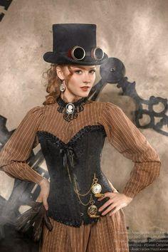 Blouse under corset Mr Steampunk One #SteamPUNK ☮k☮