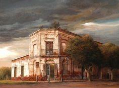 Almacen en Besonart / Frasca, Jorge / Artistas / Arte-online Hispanic American, Arte Online, Hyperrealism, Realism Art, Traditional Paintings, Country Art, Paint Colors, Watercolor Paintings, Fine Art
