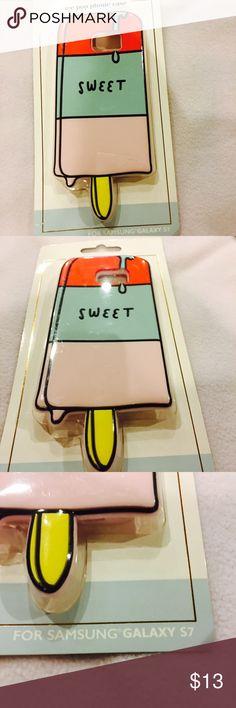 Ice cream phone case New phone case, FUN!!! Ice cream case for Galaxy S7 Accessories Phone Cases