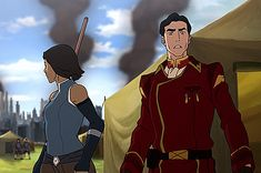 Korra & General Iroh | Legend of Korra | Avatar | (gif)