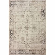 41a9186d9c nuLOOM Oriental Vintage Viscose Persian Natural Area Rug - Overstock  Shopping - Great Deals on Nuloom - Rugs