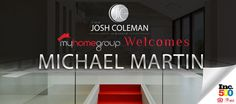 The Josh Coleman Group welcomes #MichaelMartingRealtor to our team! #JoshColemanRealtor #JoshColemanGroup #MyHomeGroup