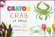 Download Crayon Crab @creativework247