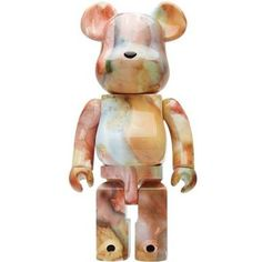 Pushead Be@rbrick 400% Pink Marble, Pepper Grinder, House, The Originals, Home, Homes, Houses