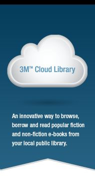 Did you know you could download and read e-books right on your smartphone or tablet? For FREE? All you need to access the 3M Cloud Library is your JCPL card. Check out an e-book today!