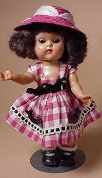 Ginny -- Ginny doll wearing the 'Save the Whales' Dress