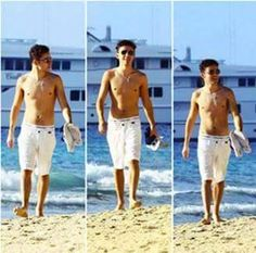 Nathan - shirtless