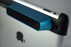 Great addition to my 3D printer! - This Amazing Accessory Turns Your iPad Into a 3-D Scanner | Wired Design | Wired.com