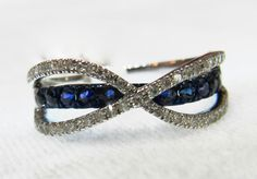 Reserved 4th of 4 pymts French Maker Alwand Vahan Blue