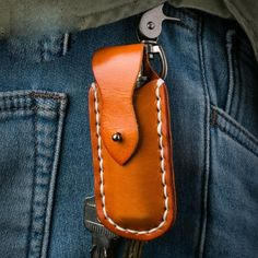 Overview: Design: Handmade Leather Mens Cool Key Wallet Lighter Holder Pouch Key Holder for MenIn Stock: Ready to Ship(2-4 days)Include: OnlyHolderCustom:No